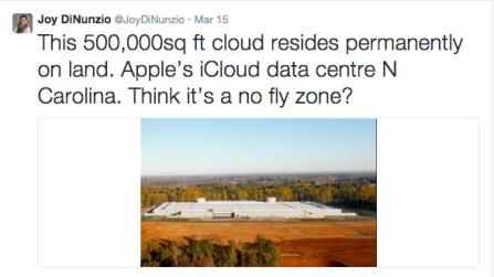 iCloud tweet