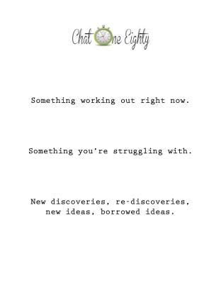 ChatOneEighty